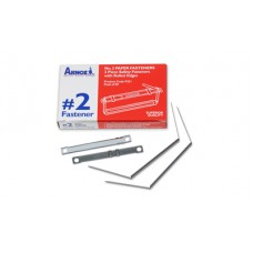 Arnos No. 2 Metal Fasteners 2 Piece Box 50