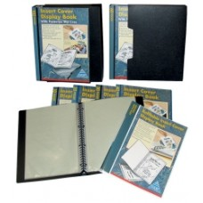 Colby A4 20 Pocket Insert Display Book