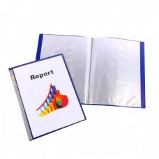Bantex 40 Pocket Navy Blue Display Book