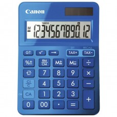 Canon 12 Digit Desktop Calculator Metallic Blue LS-123K