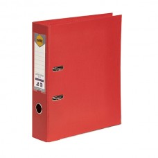 Marbig A4 PE Bright Red Lever Arch File Box 10