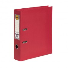 Marbig A4 PE Deep Red Lever Arch File Box 10