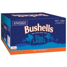 Bushellls Blue Label Tea Bags Box 1000