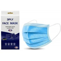 Disposable Face Mask 3 Ply Pkt 5
