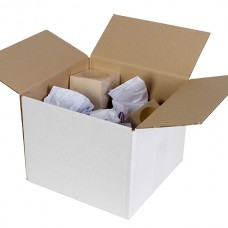 Cumberland White Shipping Box 310x225x110mm Pkt25