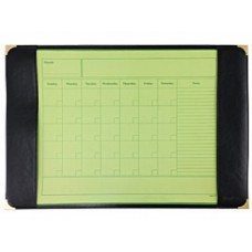 Bantex Black Desk Pad with Weekly Planner