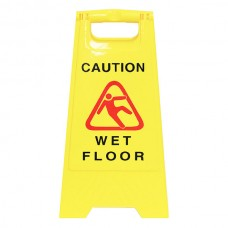 Cleanlink Wet Floor Yellow Safety Sign