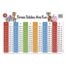 Learning Can Be Fun Place Mat Times Tables Are Fun
