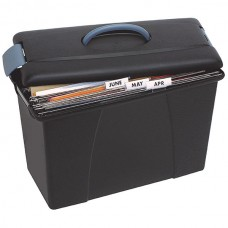 Crystalfile Black Carry Case with Lid