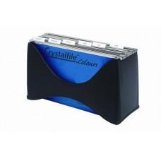 Crystalfile Black Desktop Filer