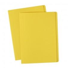 Avery Foolscap Manilla Folders Yellow Box 100