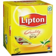 Lipton Quality Black Tea Bags Box 200