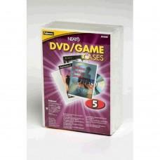 Fellowes CD/DVD Case Pkt 5