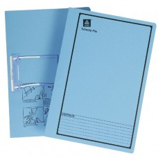 Avery Foolscap Files with  Tubeclip Fasteners Blue Box 20
