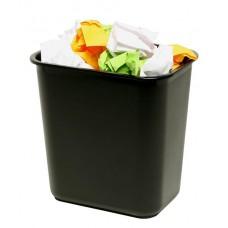 Marbig Enviro Waste Bin 12L Black