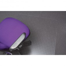 Marbig Tuffmat Keyhole Chairmat  90cm x 120cm