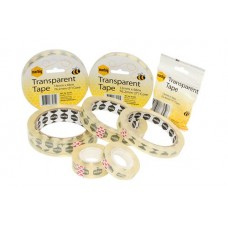 Marbig Clear Adhesive Office Tape 12mm x 33m
