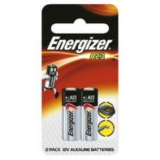 Energizer A23 Car Alarm Batteries Pack 2