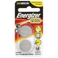 Energizer CR2032 Calculator Batteries Pack 2