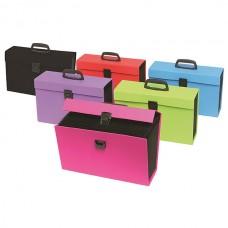 Colourhide My Trusty Expanding Carry File Blue