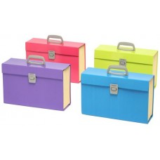 Marbig Summer Colours Carry File Assorted