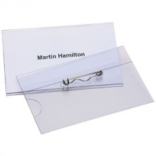 Marbig Convention Card Holder with Pin Box 50