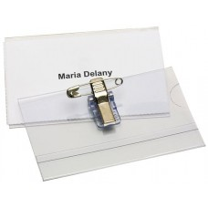 Rexel Convention Name Card Holder Pin/clip