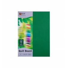 Quill A4 210gsm Emerald Board Pkt 50