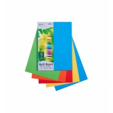 Quill A4 210gsm Brights Board Pkt 50