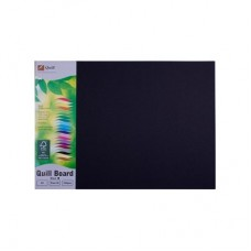 Quill A3 210gsm Black Board Pkt 25