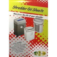 Gold Sovereign Shredder Oil Sheets Pk 12