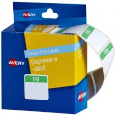 Avery Freezer Safe Friday Printed Labels