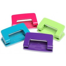 Marbig 2 Hole Punch Summer Colours