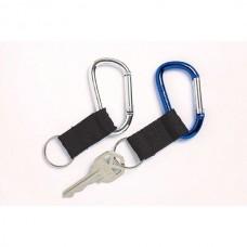 Rexel ID Carabiner Key Ring Pkt 2
