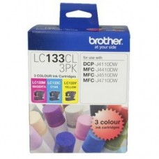 Brother LC-133 Colour Ink Pack