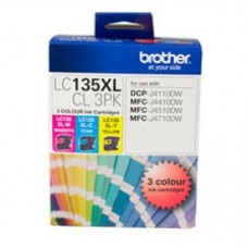 Brother LC-135XL Colour Ink Pack