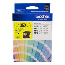 Brother LC-135XL Yellow Ink Cartridge