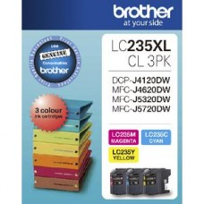 Brother LC-235XL 3 Colour Pack