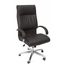 CL820 High Back Executive Chair - Pu Black