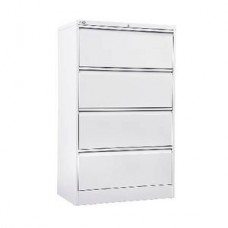 Go 4 Drawer Lateral Filing Cabinet White China