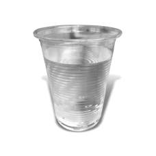 Clear Plastic Cups 210ml Sleeve 50