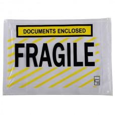 Cumberland Fragile Document Enclosed Envelope