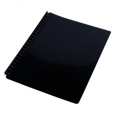 Cumberland Gloss Black A4 Display Book Refillable