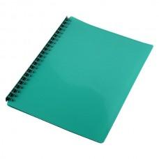 Cumberland Display Book A4 Refillable Gloss Green