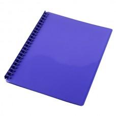 Cumberland Display Book A4 Refillable Gloss Purple