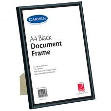 Carven A4 Black Document Frame