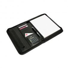 Rexel Compendium Zip Pad Holder Black