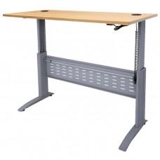 Rapid Span Electronic Height Adjustable Desk 1500 x 700mm Beech