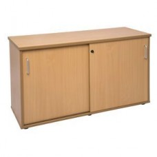 Rapid Span Sliding Door Credenza 1200mm Beech